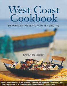 West Coast Cookbook